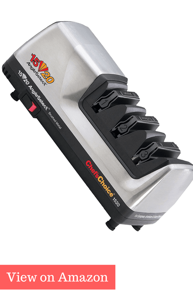 chef's choice diamond horn knife sharpener