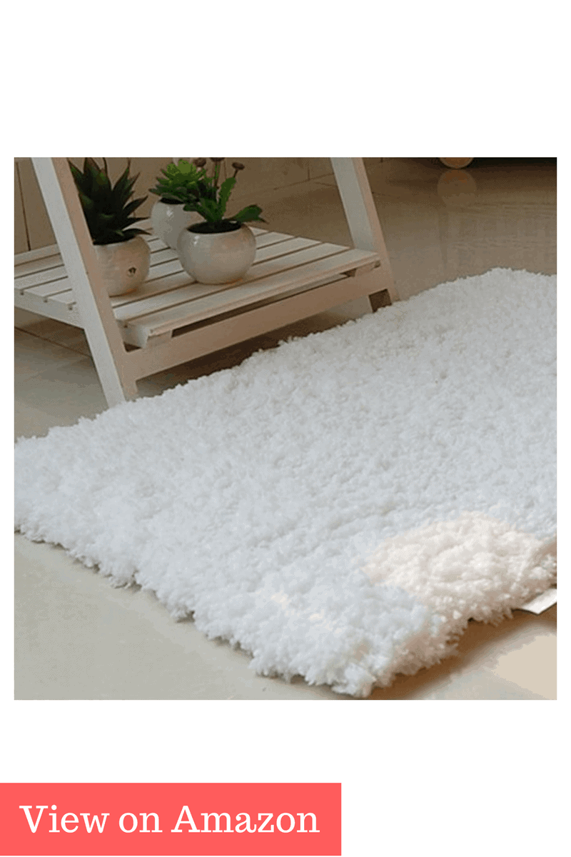 AccMart Bathroom Rug Floor Mat Soft Absorbent