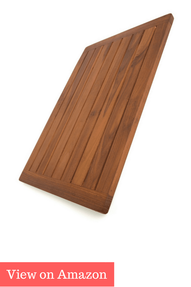 The Original Spa Teak Bath & Shower Mat
